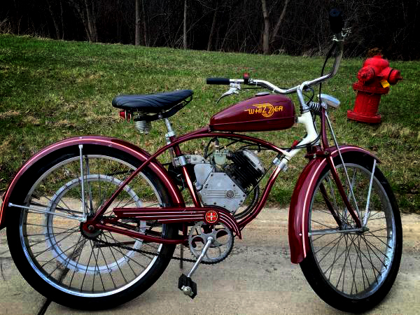 1947 Schwinn Whizzer Model J